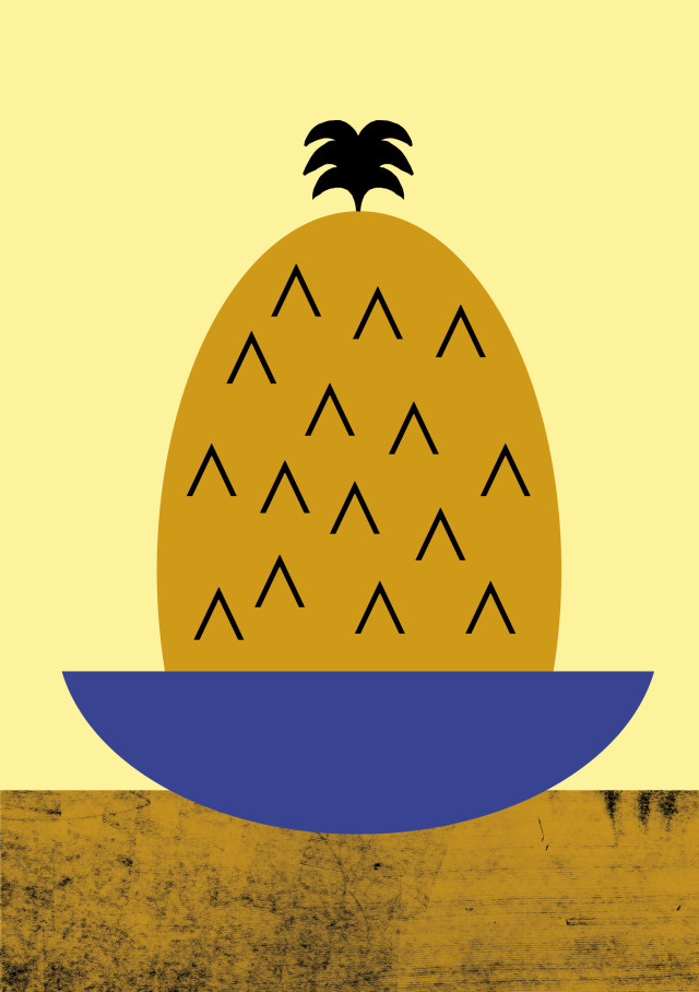 Poster collection, tutti_frutti_ananas