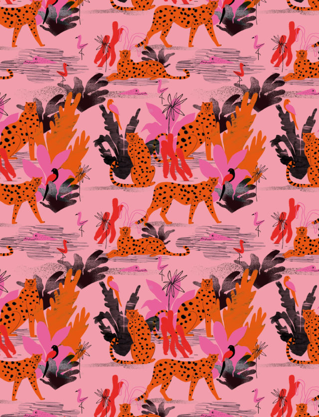 Pattern Design, 1muster_cheetah