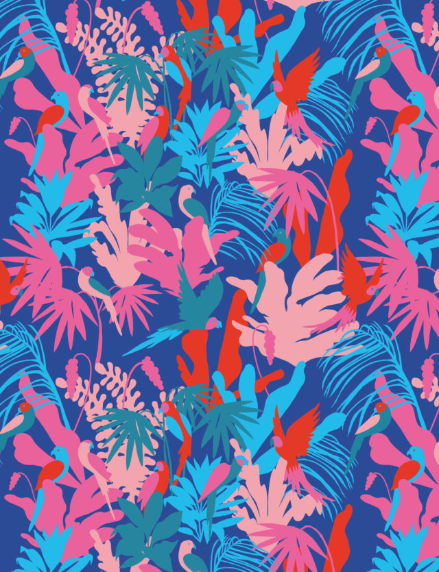 Pattern Design, 1muster_jungle