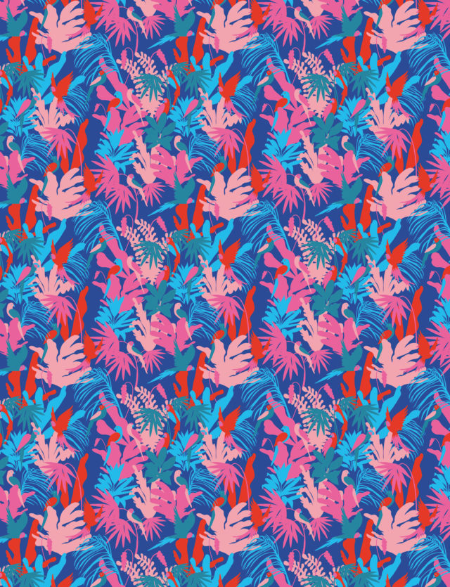 Pattern Design, 1muster_jungle1