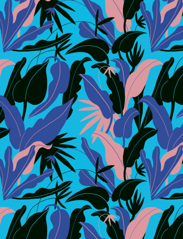 Pattern Design, 1muster_leaves