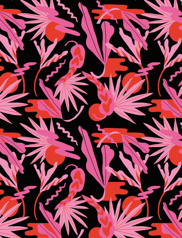 Pattern Design, 1muster_sunset