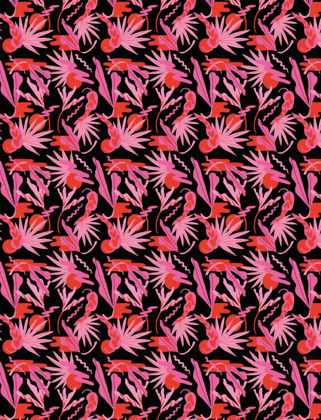 Pattern Design, 1muster_sunset1