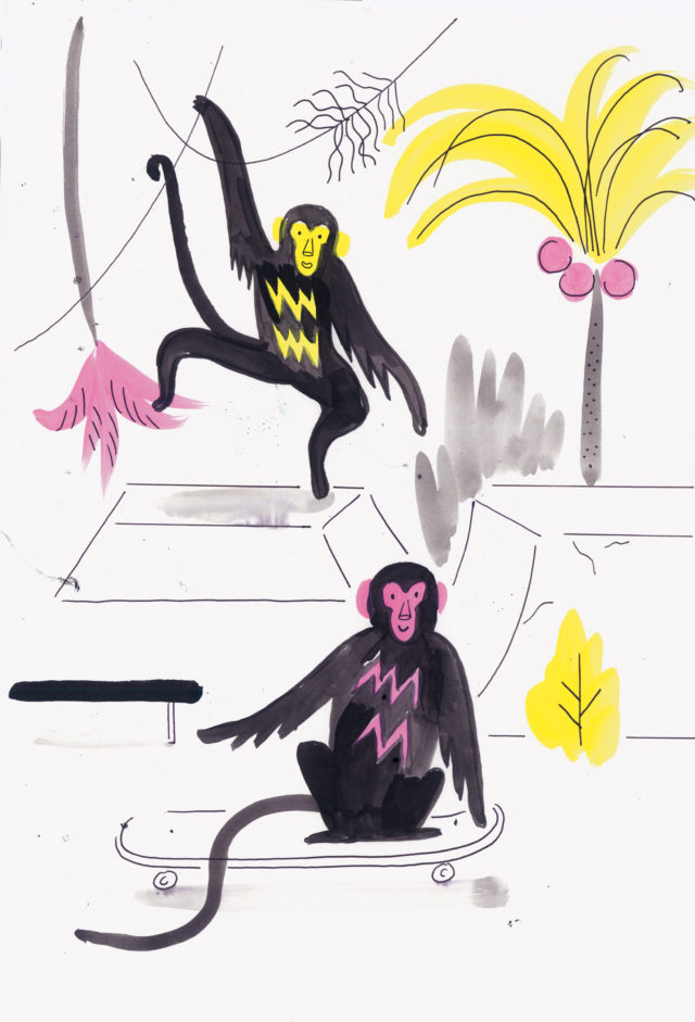 Tropicana Series, tropicana_monkeys1